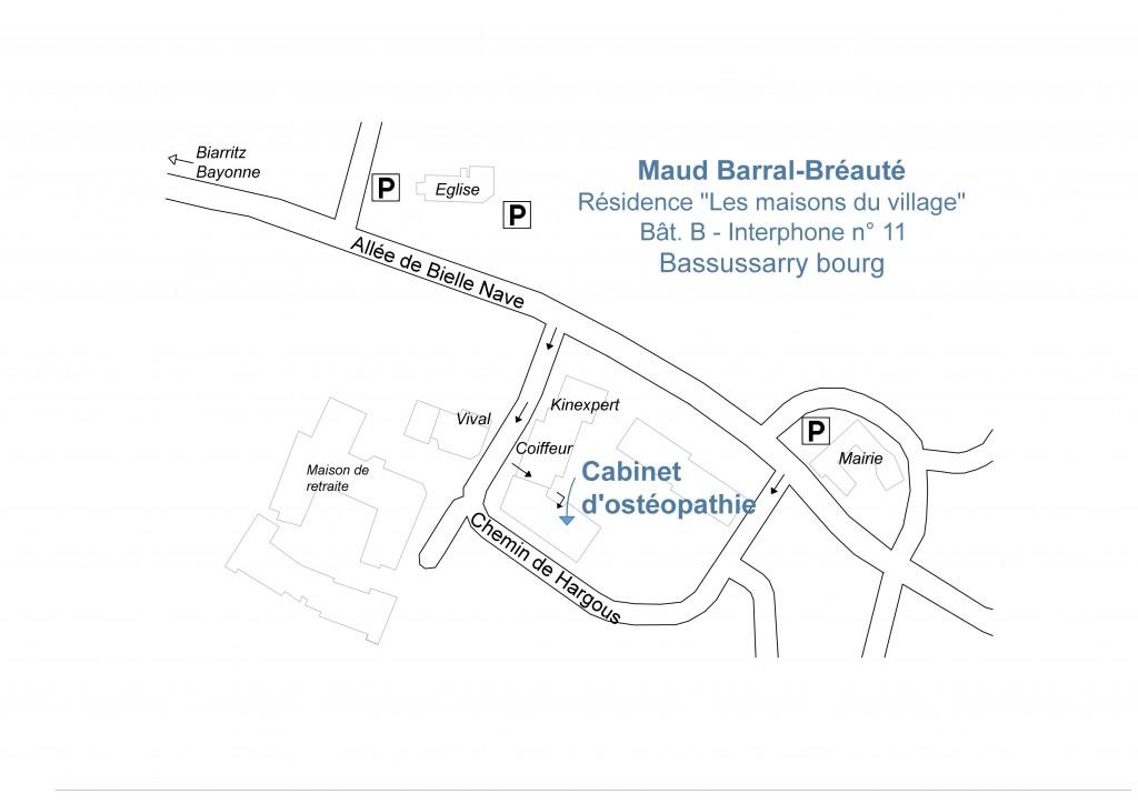 plan cabinet de Maud BARRAL